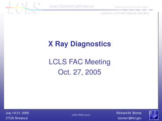 X Ray Diagnostics