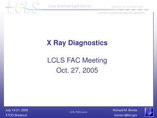 X Ray Diagnostics