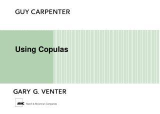 Using Copulas