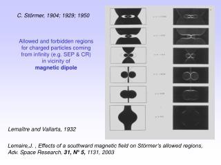C. Störmer, 1904; 1929; 1950