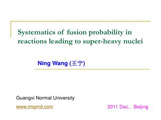 Systematics of fusion probability in  reactions leading to super-heavy nuclei