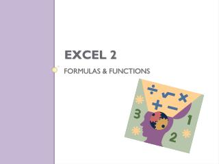 Formulas & Functions