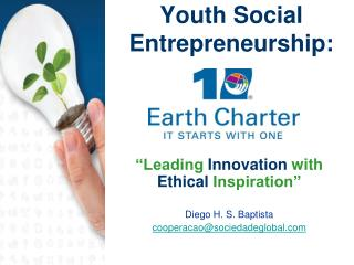 Youth Social Entrepreneurship: