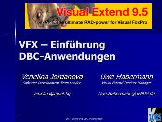 VFX � Einf�hrung DBC-Anwendungen