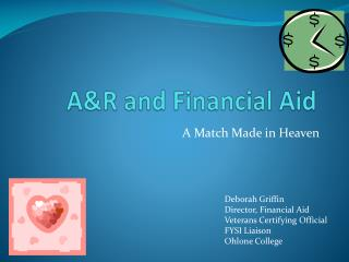A&R and Financial Aid