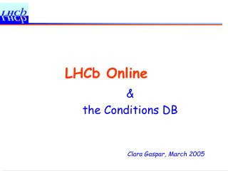 LHCb Online
