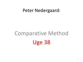 Peter Nedergaard: