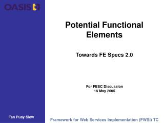 Potential Functional Elements