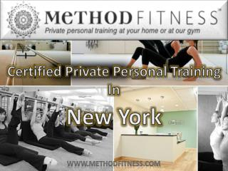 Personal Training Programs From Method Fitness