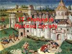 II. Changes in  Medieval Society