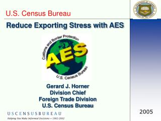 Reduce Exporting Stress with AES