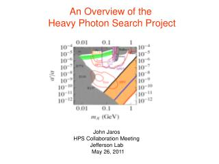 An Overview of the  Heavy Photon Search Project