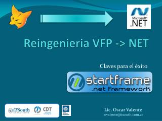Reingenieria  VFP -> NET