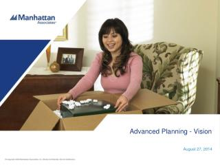 Advanced Planning - Vision