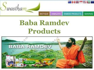 Baba Ramdev Products