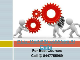 PLC Traiinng Courses in Delhi