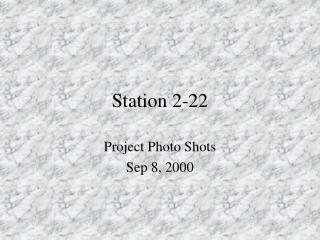 Station 2-22