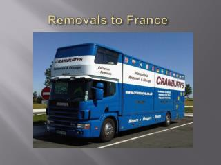 Removals to France, Removals to Spain, Removals Southampton,