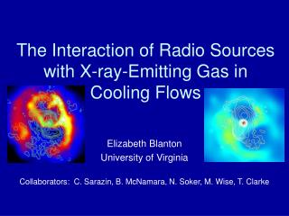 The Interaction of Radio Sources with X-ray-Emitting Gas in Cooling Flows