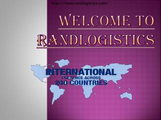 RANDlogistics Courier Delivery Services in more than 240 cou