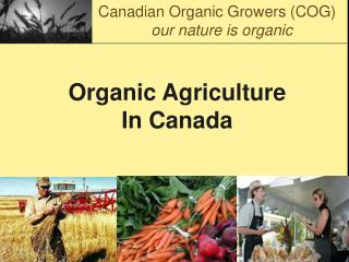 Organic Agriculture In Canada