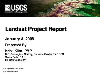 Landsat Project Report