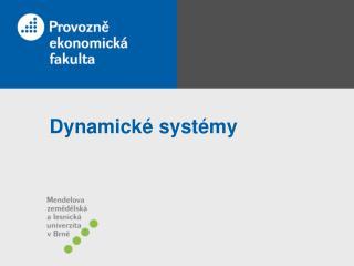 Dynamické systémy