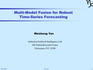 Multi-Model Fusion for Robust Time-Series Forecasting