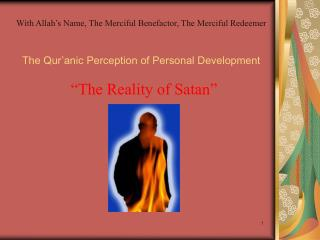 The Qur'anic Perception of Personal Development