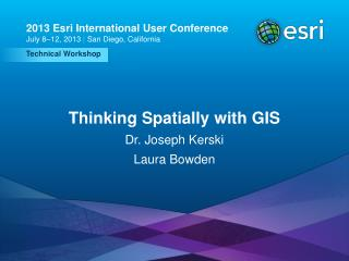Thinking Spatially with GIS
