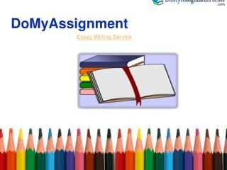 Essay writing services-Domyassignment