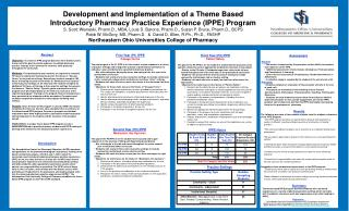 Development and Implementation of a Theme Based