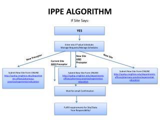 IPPE ALGORITHM