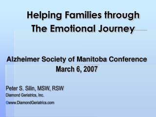 Helping Families through The Emotional Journey