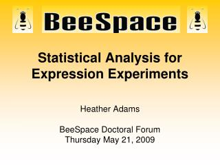 Statistical Analysis for Expression Experiments