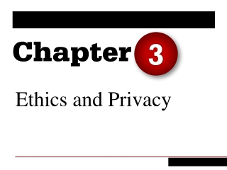 Ethical Issues in Privacy and Data Protection