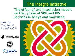 The effect of two integration models on the uptake of SRH and HIV services in Kenya and Swaziland