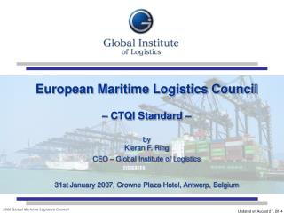 About Global Institute of Logistics