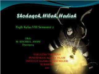 Shodaqoh ,  Hibah ,  Hadiah