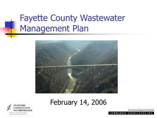 Fayette County Wastewater Management Plan