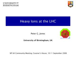 Heavy Ions at the LHC