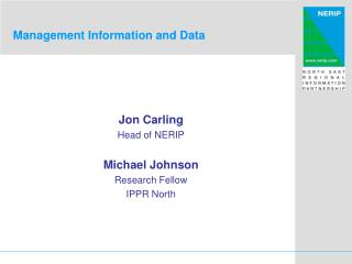 Management Information and Data