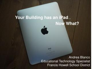 Intermediate iPad Training