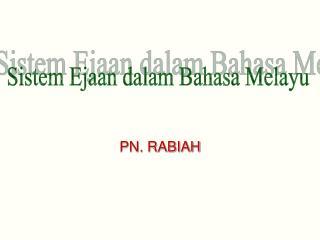 PN. RABIAH