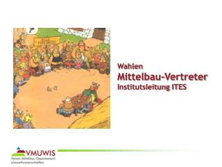 Wahlen Mittelbau-Vertreter  Institutsleitung ITES