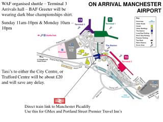 Direct train link to Manchester Picadilly