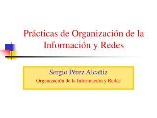 Prácticas de Organización de la Información y Redes