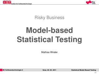 Model-based Statistical Testing