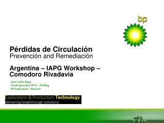 P rdidas de Circulaci n Prevenci n and Remediaci n  Argentina   IAPG Workshop   Comodoro Rivadavia