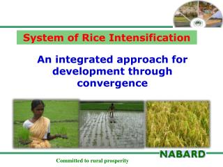 An integrated approach for development through convergence